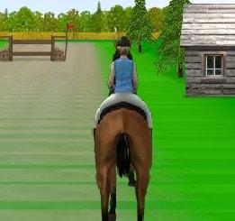 Игра Скачки на Лошадях 2 онлайн