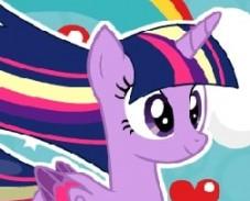 Игра Пони Искорка: Радужный Стиль онлайн