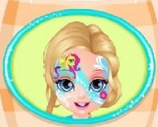 Игра Малышка Барби в Стиле Пони онлайн
