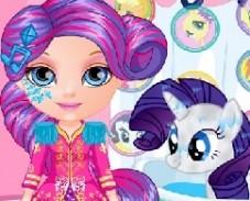 Игра Малышка Барби и Пони 2 онлайн