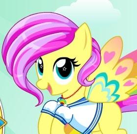 Игра Пони Флаттершай: Радужный Стиль онлайн