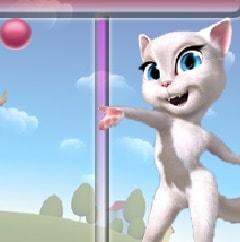 Игра Говорящая Анжела Пузыри онлайн