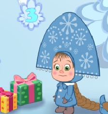 Игра Маша и Медведь Подарки онлайн