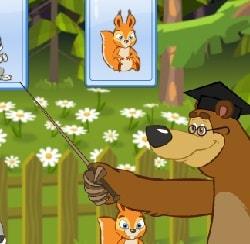 Игра Маша и Медведь: Кто Тяжелее? онлайн