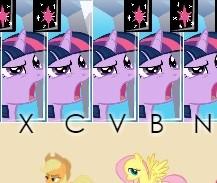 Игра Пианино Пони онлайн