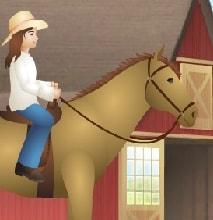 Игра Барби на Лошади онлайн