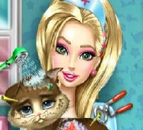 Игра Барби: Спасение Котенка онлайн
