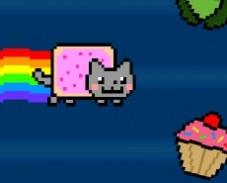 Игра Кошка Радуга онлайн