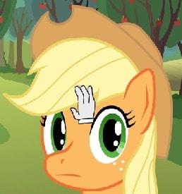 Игра Ласкать Пони Эпплджек онлайн