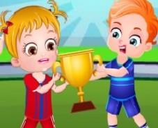 Игра Хейзел: День Спорта онлайн