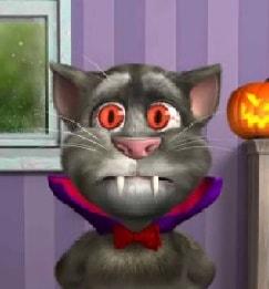Игра Говорящий Кот Том: Хэллоуин онлайн