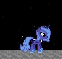 Игра Пони: Бродилка с Луной онлайн