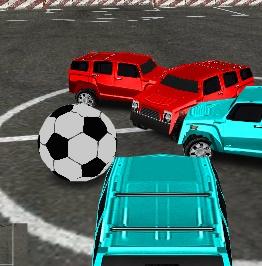 Игра Футбол на Машинах 4х4 онлайн