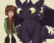 Игра Как Приручить Дракона: Обед Сюрприз онлайн
