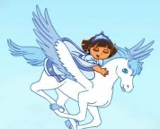 Игра Даша и Снежная Принцесса онлайн