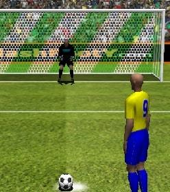 Игра Футбол: Пенальти 3Д онлайн