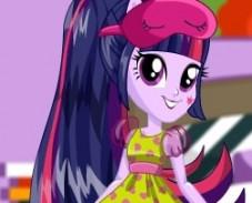 Игра Пижамная Вечеринка Твайлайт Спаркл онлайн