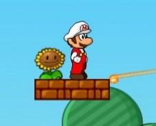 Игра Марио Стреляет Зомби онлайн