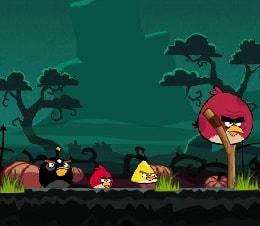 Игра Злые Птички: Хэллоуин онлайн