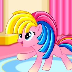 Игра Пони Пинки Пай: Радужный Стиль онлайн