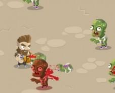 Игра Вторжение Зомби онлайн