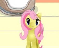 Игра Забота о Пони на День онлайн