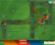 Игра Цветные танки (Color Tanks) онлайн