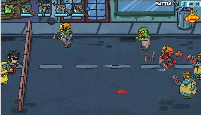 Проблемные Зомби онлайн