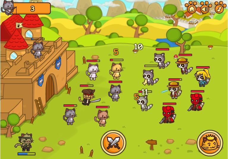 Коты — ударная сила: Последняя Битва онлайн