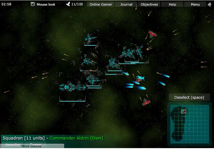 Космическая эскадрилия онлайн