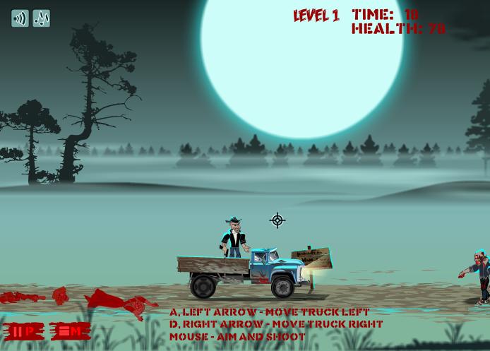 Зомби грузовик онлайн