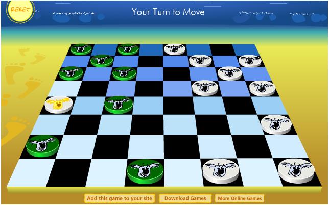 Коала шашки онлайн