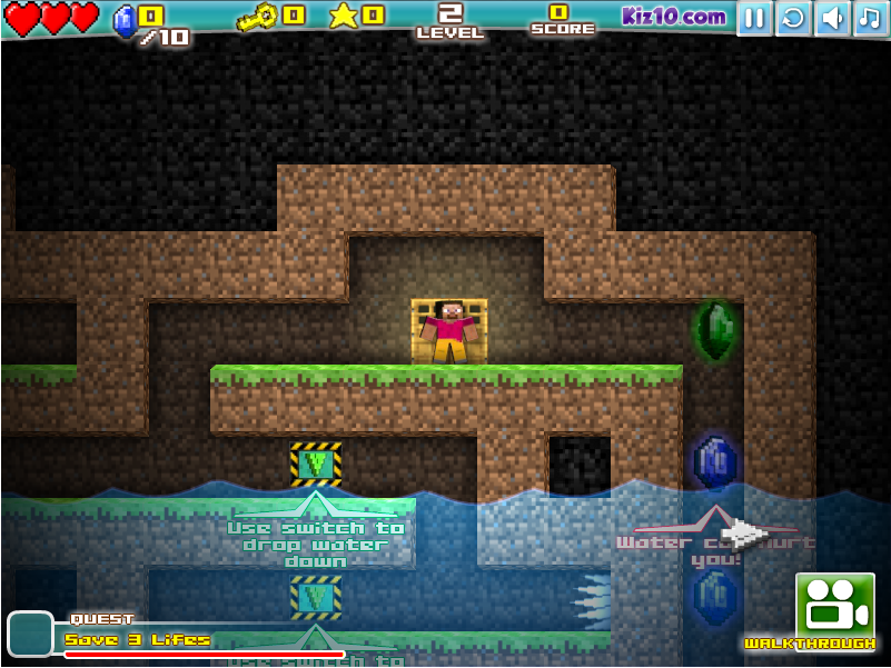 Майнкрафт: Пещеры онлайн